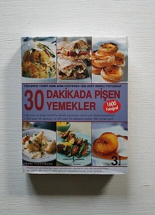 30 Dakikada Pişen Yemekler Kitap