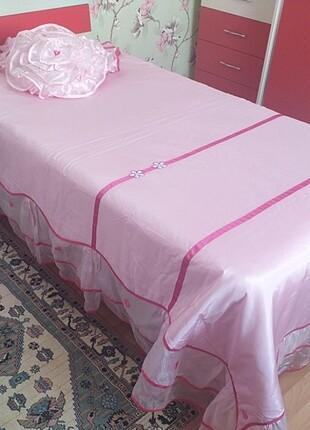 Beden Çilek leydi yatak örtüsü