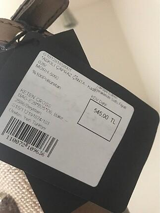 Beden Yeni etiketli askılı Beymen Club çanta