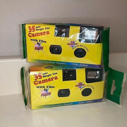 001 Kodak Kullan At Analog Kamera 2 adet