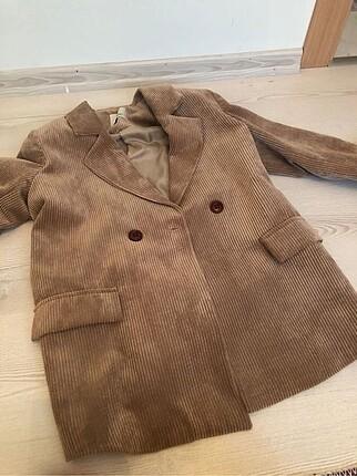 m Beden camel Renk Blazer ceket