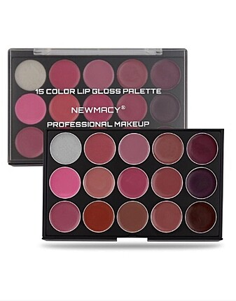 Newmacy 15 Color Lipgloss Palet