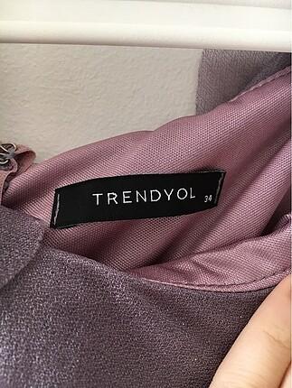 Trendyol & Milla Trendyolmilla gül kurusu drape detaylı elbise