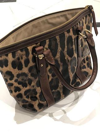Dolce & Gabbana etiketli leopar çanta