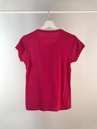 s Beden Baskılı PINK tshirt