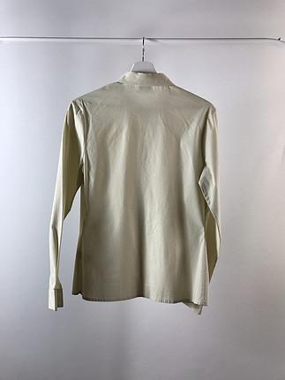 Uzun Kollu bej Lacoste Gömlek