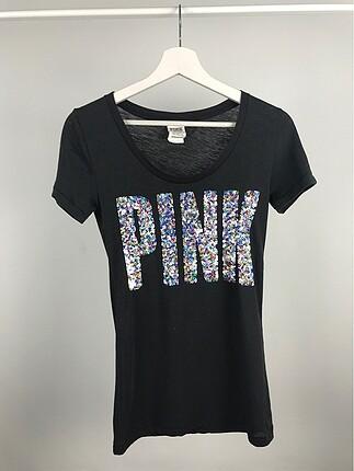 Pullu Pink tişört