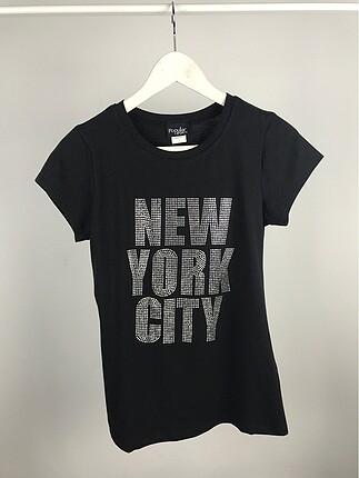 Taşlı NewYorkCity tshirt