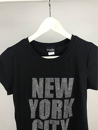 Diğer Taşlı NewYorkCity tshirt