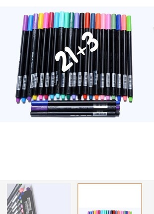 Fineliner kalem 21+3 adet 0.4mm
