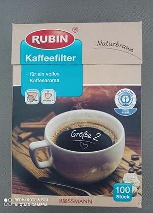 Kahve makinesi kağıt filtre