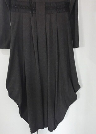 42 Beden siyah Renk Uzun kollu penye elbise