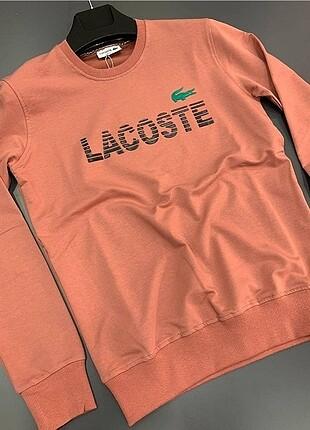Lacoste Sweatshirt. Rengi Mercan.