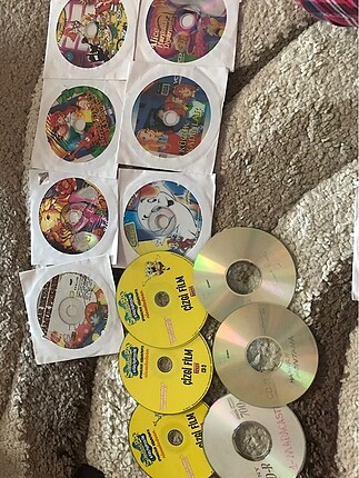 Çizgi film cdleri