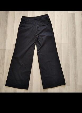 Kanvas pantolon palazzo model bol paça