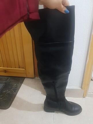 Bambi Siyah uzun çizme