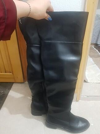 37 Beden siyah Renk Siyah uzun çizme