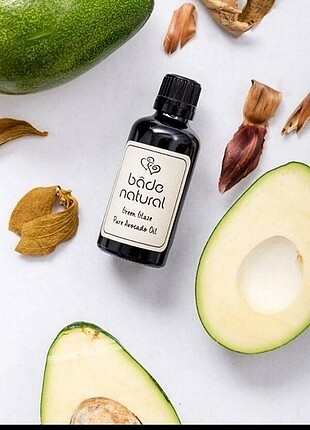 Bade Natural Saf Avokado Yağı