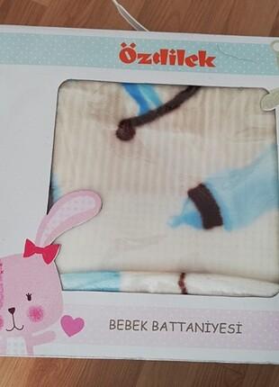 Özdilek peluş bebek battaniyesi baby boy