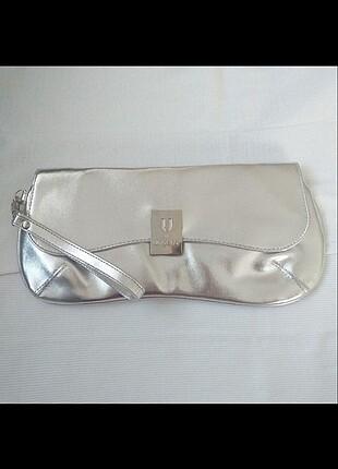 Ungaro Gümüş Parlak Çanta