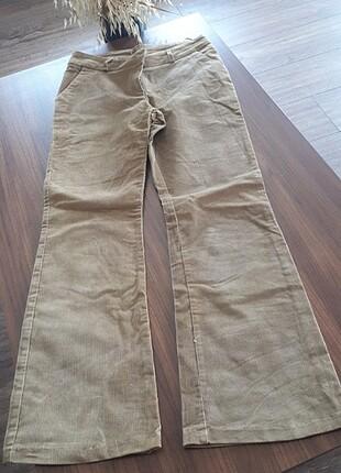 Kadife bayan pantolon