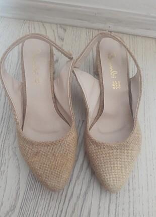 37 Beden Kısa topuklu ayakkabi
