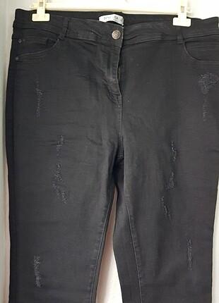 Liğralı kot pantolon