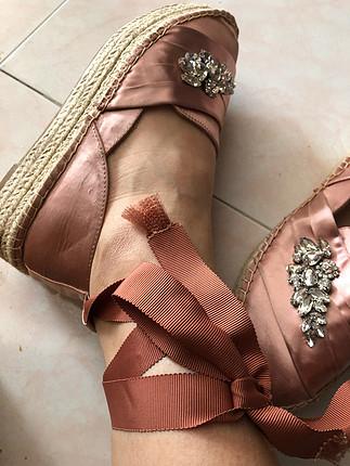37 Beden Bağcıklı ayakkabı