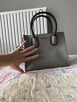 Beden gri Renk Matthew Cox kol veya el çantası
