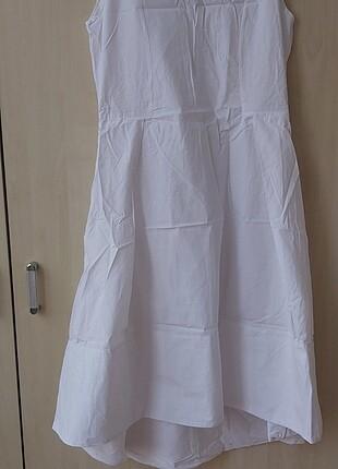 Önü kısa arkası uzun fuar için özel dikim elbise