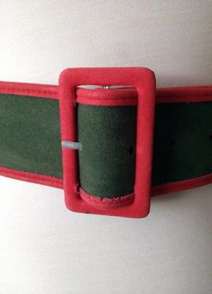 c0009da7a8b Kırmızı-Yeşil Kemer Vintage Love Kemer %100 İndirimli - Gardrops
