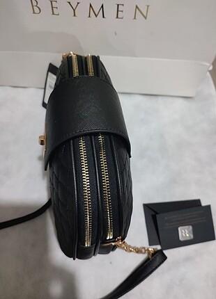 Beden siyah Renk Orjinal beymen çanta