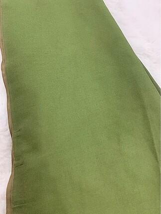 Beden yeşil Renk İpekevi çift taraflı