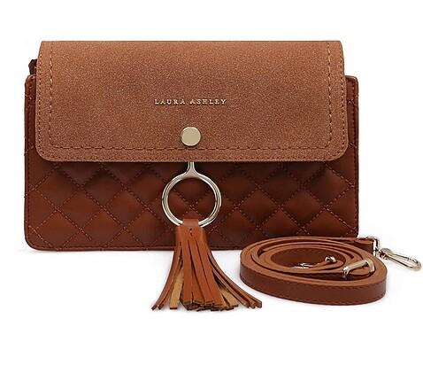 Laura Ashley Taba omuz çantası