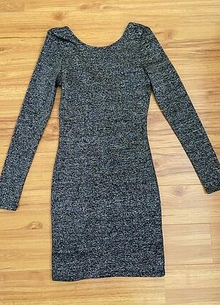 H& M kısa elbise