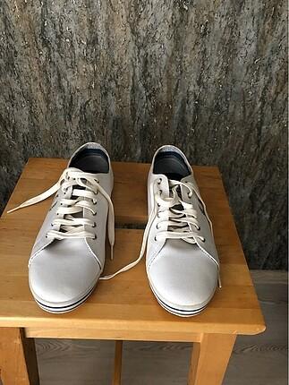 Fred perry beyaz unisex sneaker