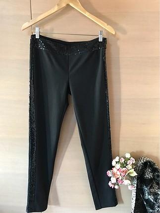 Homestore LINA pul detaylı kumaş pantolon