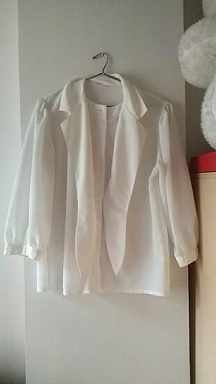 Nostalji beyaz gömlek