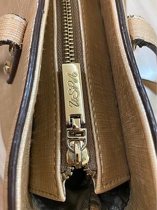 Beden Gold us polo az kullanılmış omuz çantası