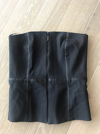 Siyah straplez yeni
