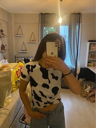Benekli tişört