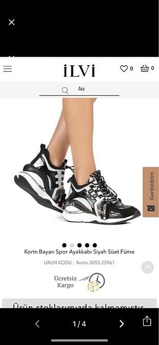İlvi El Yapımı Şık Spor Ayakkabısı
