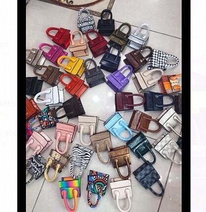Mini minnacık çantalar