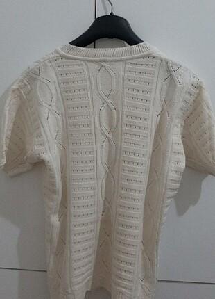 Vintage Love Kadın örgü vintage bluz