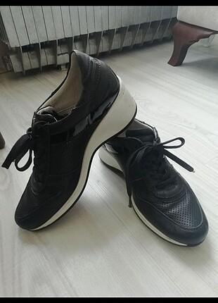 Kemal Tanca deri spor ayakkabı