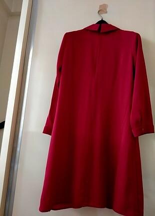 l Beden kırmızı Renk Kırmızı tunik