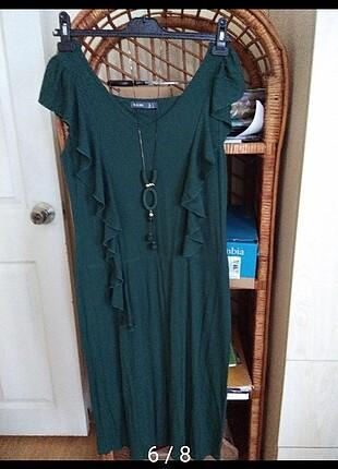 Ördek başı ???? yeşil elbise ????