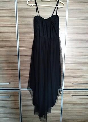 Siyah Sade elbise