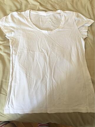 Düz Beyaz Tişört