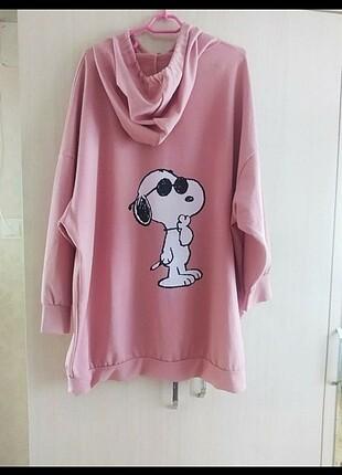Snopy baskılı sweatshirt